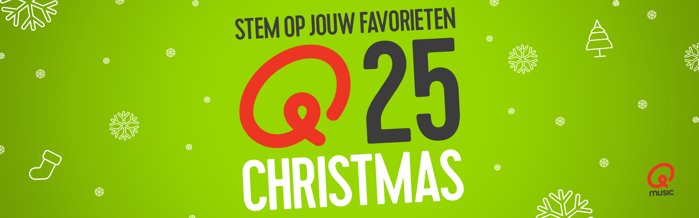 Qmusic actionheader qchristmas25