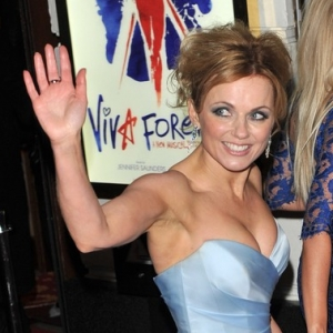 Spice girls attend viva forever press night 24
