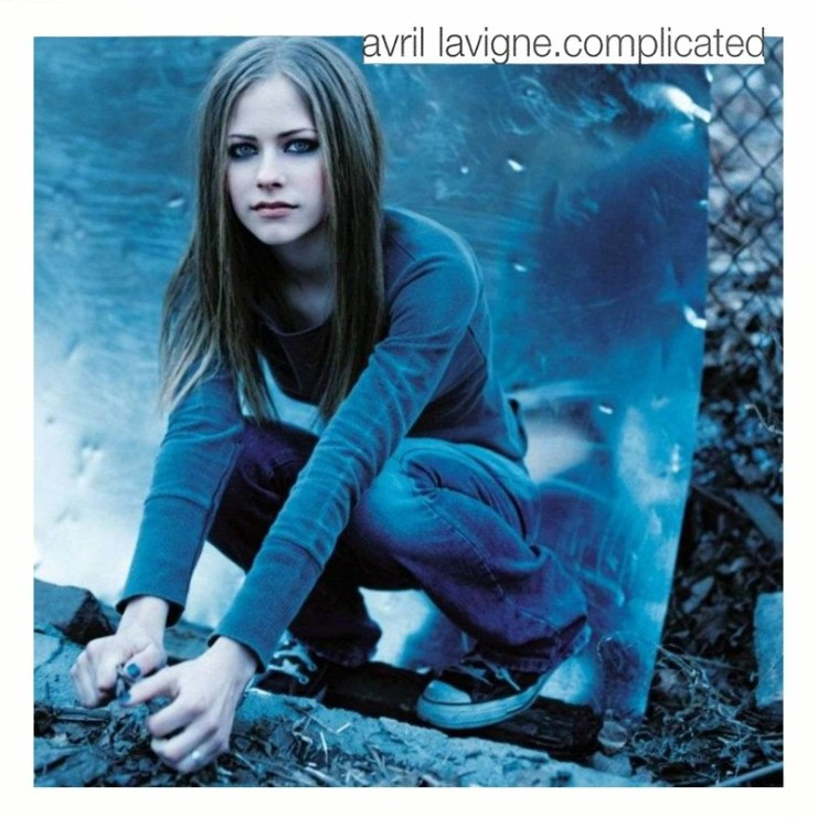 255ballcdcovers 255d avril lavigne complicated 2002 retail cd front
