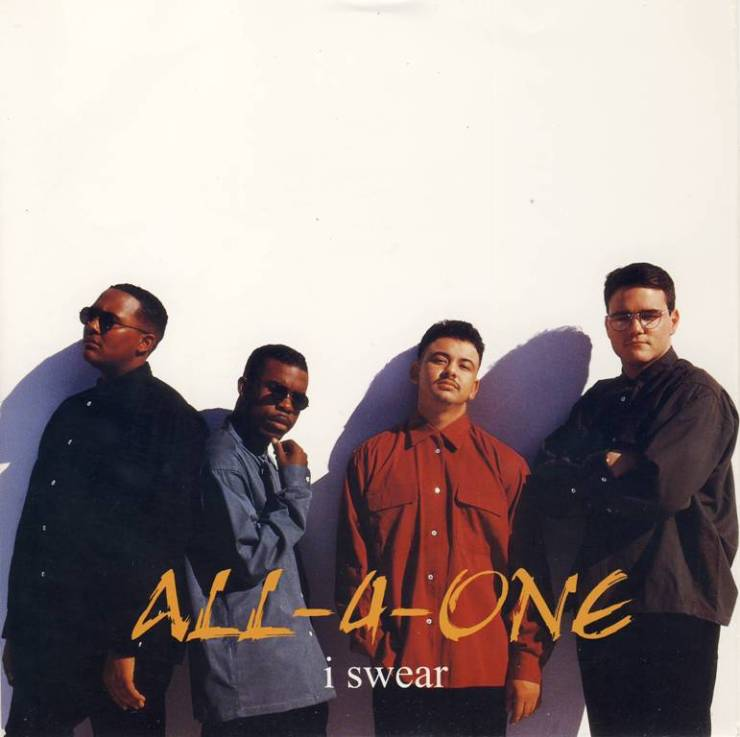 All 4 one i swear radio edit atlantic