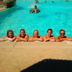 Zwembad groep