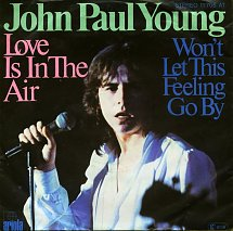 John paul young love is in the air ariola 2 s