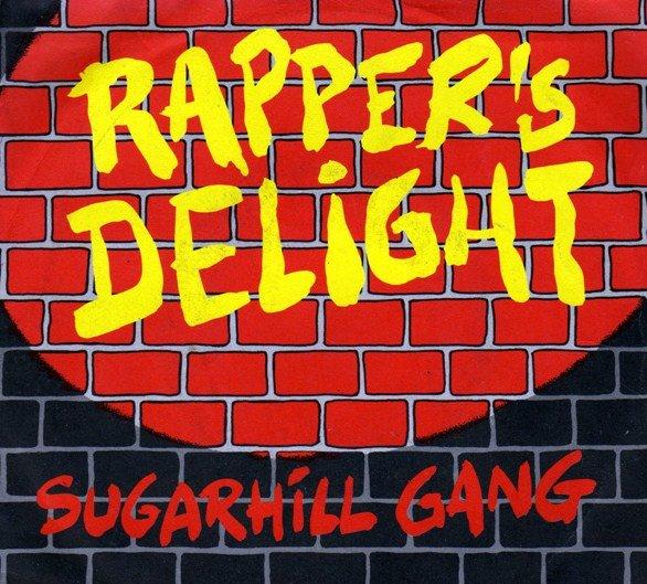 Sugar hill gang rappers delight 12 vinyl 1989