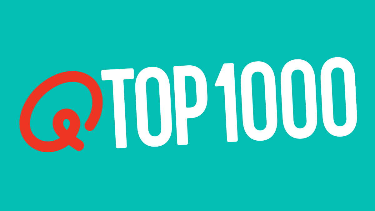 Qmusic teaser top1000 menu