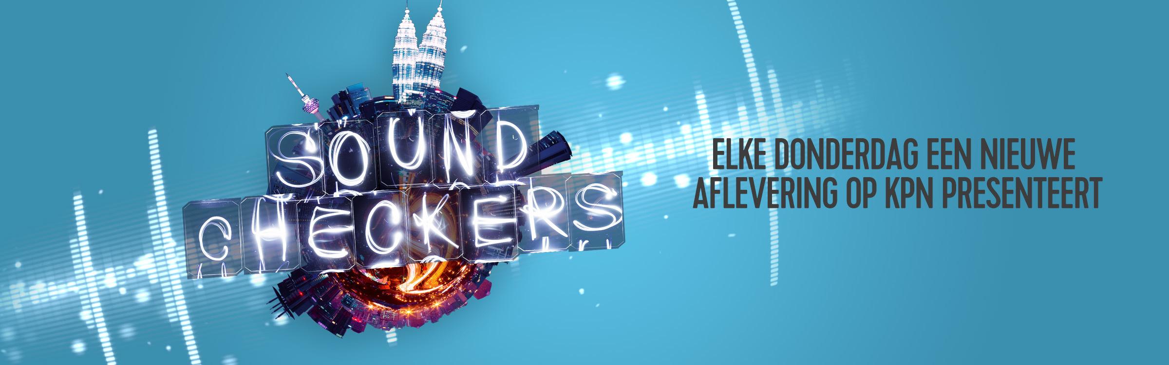Qmusic actionheader soundcheckers