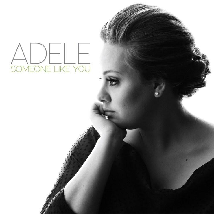 Adele someone like you album cover