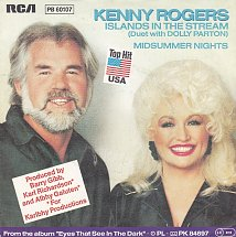 Kenny rogers and dolly parton islands in the stream rca victor 2 s