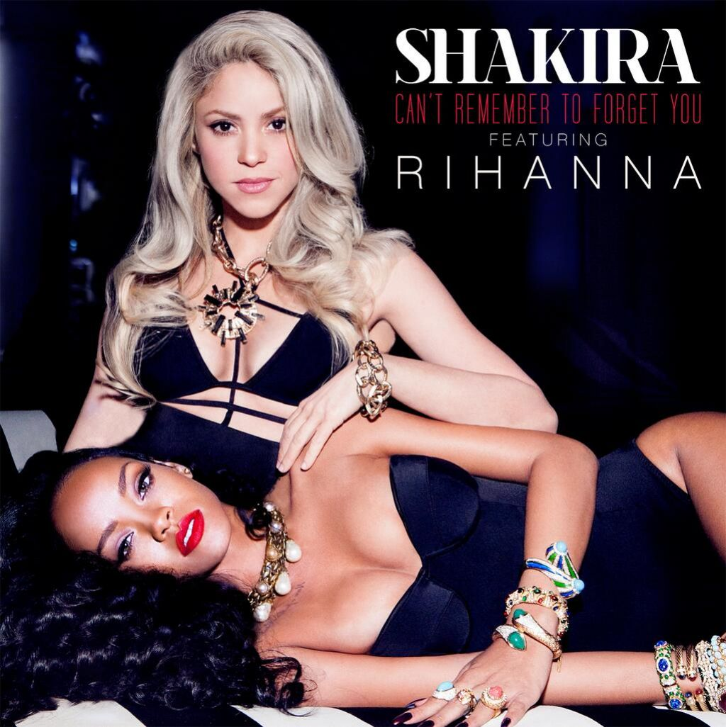 Shakira rihanna cover for their new single 1