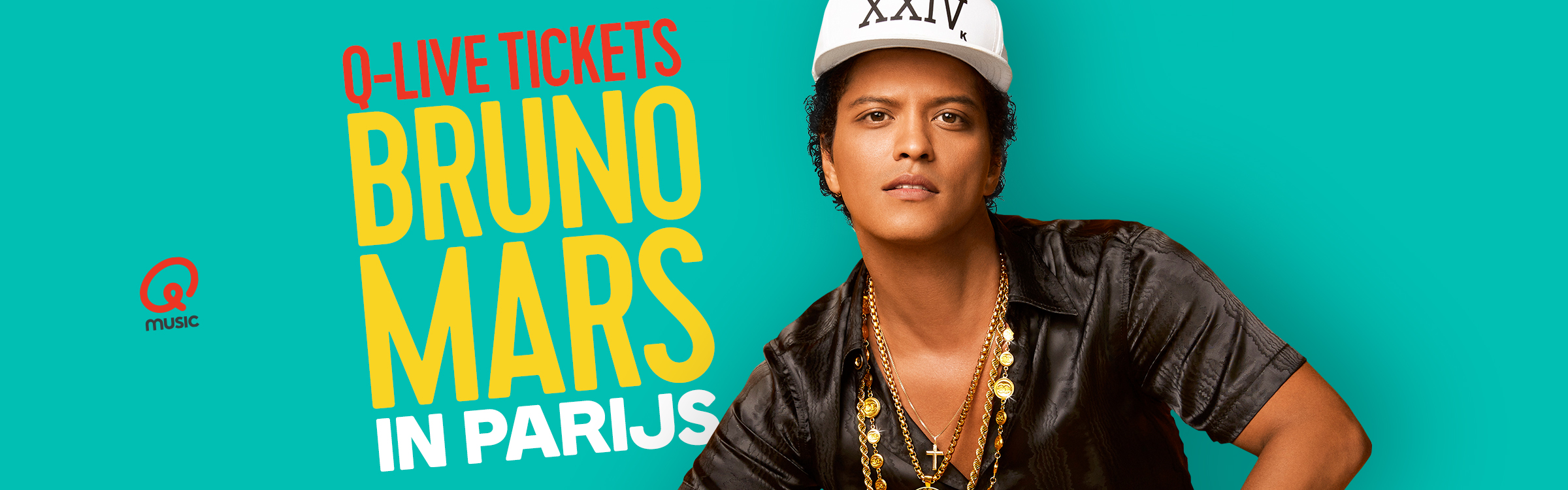 Qmusic actionheader bruno