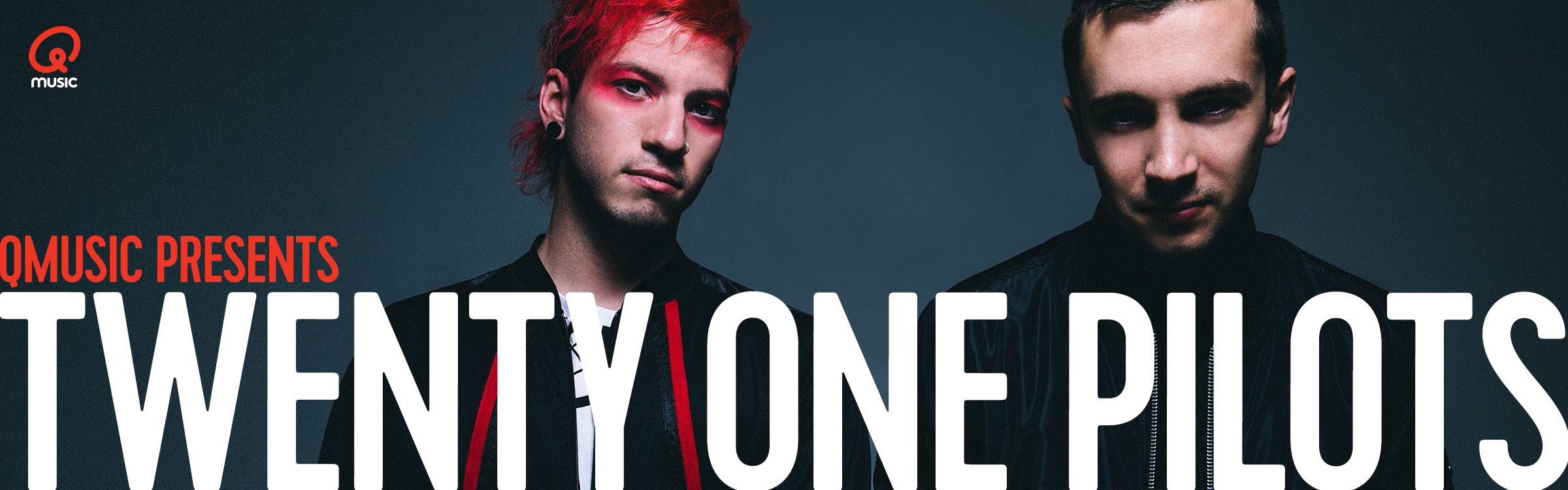 Qmusic actionheader twentyonepilots