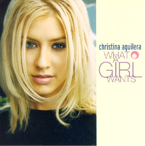 Christina aguilera   what a girl wants cd cover