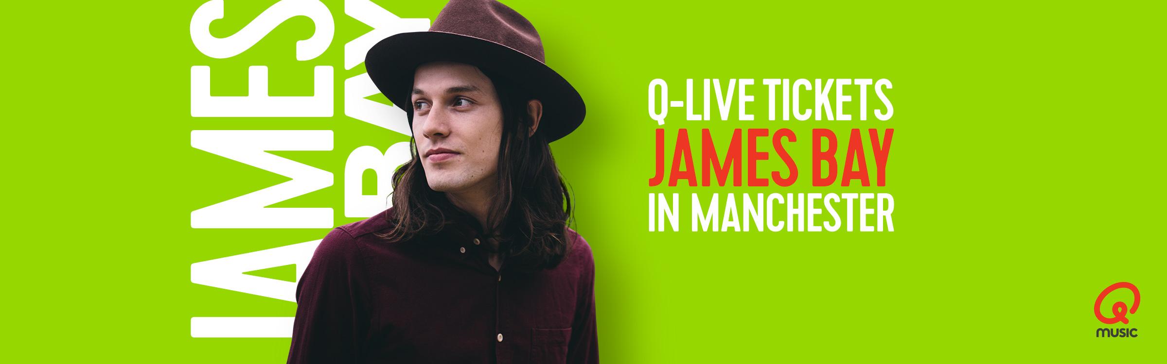 Qmusic actionheader jamesbay