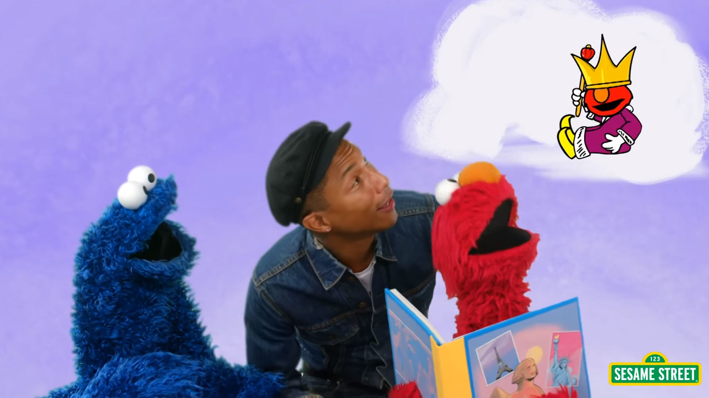 Pharrel elmo teaser