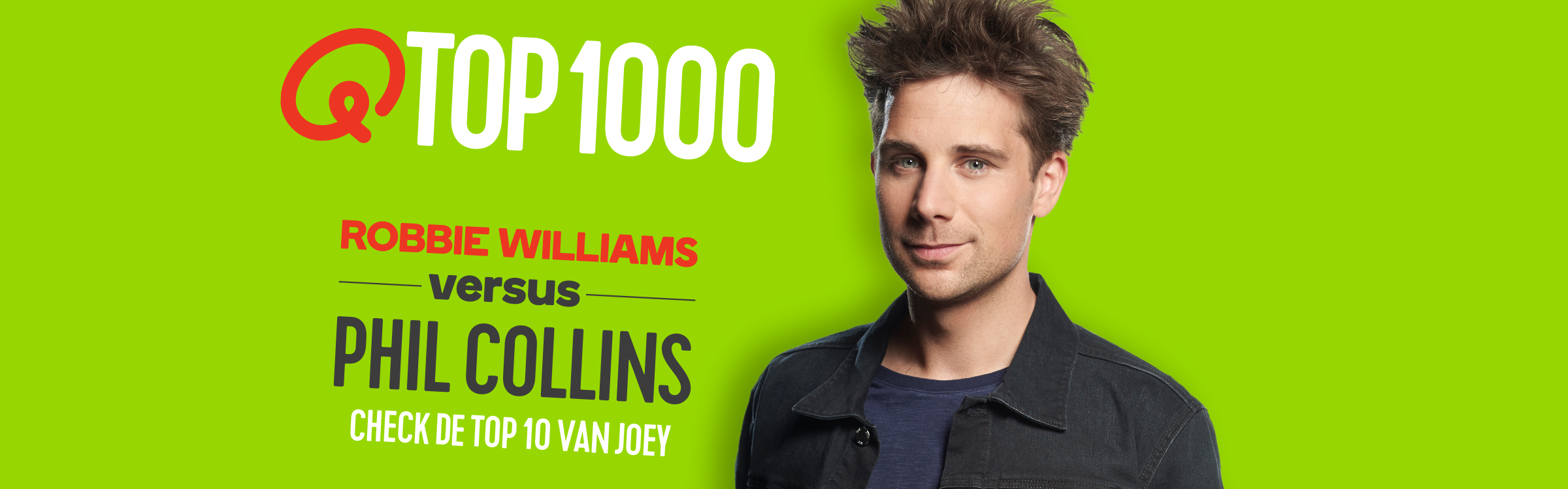 Qmusic actionheader top1000 djs joey